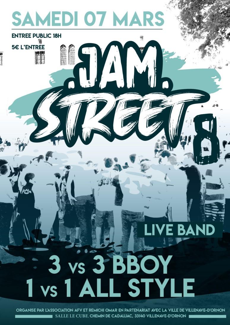 Affiche JAM Street 8_p001